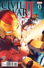 Civil War II (2016) #0 Variant F: Fried Pie Variant Cover