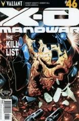 X-O Manowar (2012-2016) #46 Variant A