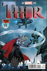 Thor (2014-2015) #1 Variant Q: Mile High Variant