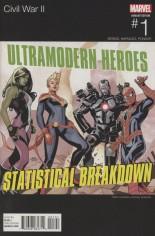 Civil War II (2016) #1 Variant D: Team Captain Marvel Marvel Hip-Hop Cover