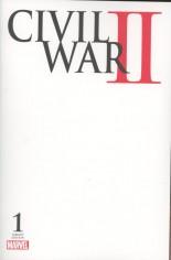 Civil War II (2016) #1 Variant G: Blank Cover
