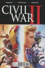 Civil War II (2016) #1 Variant L: Incentive Variant Cover