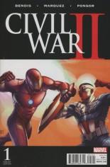 Civil War II (2016) #1 Variant N: Incentive Color Variant Cover