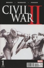 Civil War II (2016) #1 Variant O: Incentive Sketch Variant Cover