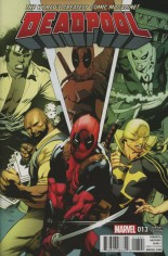 Deadpool (2016-2017) #13 Variant B: Power Man and Iron Fist Cover
