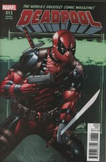 Deadpool (2016-2017) #13 Variant G: Incentive Variant Cover