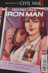 Invincible Iron Man (2015-2016) #10 Variant A