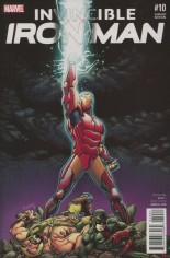 Invincible Iron Man (2015-2016) #10 Variant B: Civil War Reenactment Cover