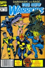 New Warriors (1990-1996) #22 Variant A: Newsstand Edition