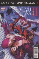 Civil War II: Amazing Spider-Man (2016) #1 Variant B