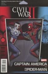 Civil War II: Amazing Spider-Man (2016) #1 Variant C: Action Figure Cover
