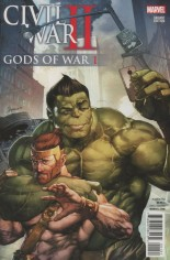 Civil War II: Gods Of War (2016) #1 Variant B