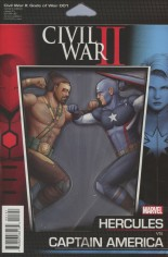 Civil War II: Gods Of War (2016) #1 Variant C: Action Figure Cover