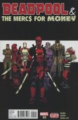 Deadpool & The Mercs For Money (2016) #5 Variant A