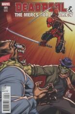 Deadpool & The Mercs For Money (2016) #5 Variant B