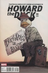 Howard the Duck (2015-Present) #8 Variant C: Incentive Classic Variant Cover