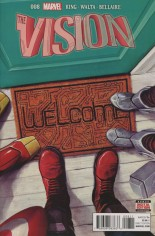 Vision (2016-Present) #8 Variant A