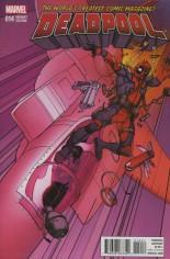 Deadpool (2016-2017) #14 Variant C: Civil War Reenactment Cover