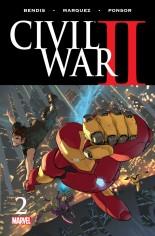 Civil War II (2016) #2 Variant A