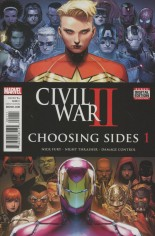 Civil War II: Choosing Sides (2016) #1 Variant A