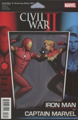 Civil War II: Choosing Sides (2016) #1 Variant C: Action Figure Cover