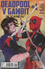 Deadpool V Gambit #1 Variant A