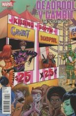 Deadpool V Gambit #1 Variant B