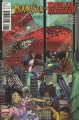 Moon Girl And Devil Dinosaur (2016-Present) #8 Variant A