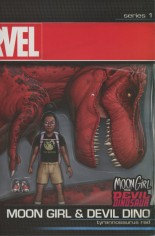 Moon Girl And Devil Dinosaur (2016-Present) #8 Variant B: Action Figure Cover