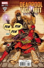 Deadpool V Gambit #1 Variant E: Fried Pie Comics Variant Cover