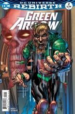 Green Arrow (2016-Present) #2 Variant B: Variant Cover