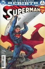 Superman (2016-2018) #2 Variant B: Variant Cover