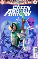 Green Arrow (2016-Present) #1 Variant C: Second Print, Variant Cover