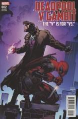 Deadpool V Gambit #2 Variant B