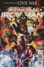 Invincible Iron Man (2015-2016) #11 Variant A