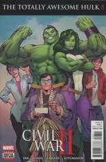 Totally Awesome Hulk #8