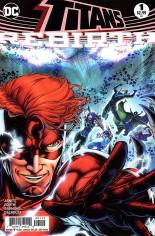 Titans: Rebirth #1 Variant C: Second Print, Variant Cover