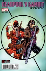 Deadpool V Gambit #1 Variant F: Gamestop Exclusive