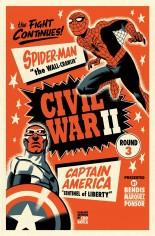 Civil War II (2016) #3 Variant B