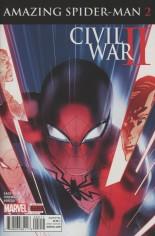 Civil War II: Amazing Spider-Man (2016) #2 Variant A