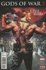 Civil War II: Gods Of War (2016) #2 Variant A