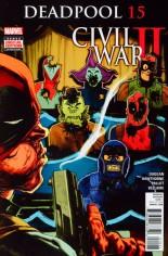Deadpool (2016-2017) #15 Variant A