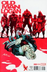 Old Man Logan (2016) #8 Variant B: Death of X Cover