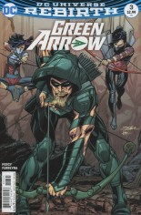 Green Arrow (2016-Present) #3 Variant B: Variant Cover