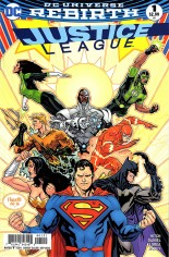 Justice League (2016-2018) #1 Variant B: Variant Cover