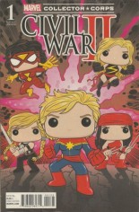 Civil War II (2016) #1 Variant U: Marvel Collector Corps Exclusive Variant Cover