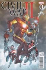 Civil War II (2016) #0 Variant J: Hastings Variant