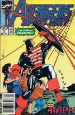 Avengers Spotlight (1989-1991) #31 Variant A: Newsstand Edition