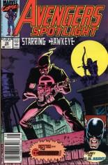 Avengers Spotlight (1989-1991) #32 Variant A: Newsstand Edition