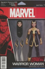 Squadron Supreme (2016-Present) #9 Variant B: Action Figure Cover